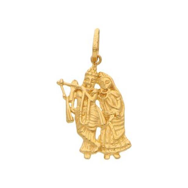 Oferta de Dije hechura especial motivo pareja en oro amarillo 22 kilates. por $7416