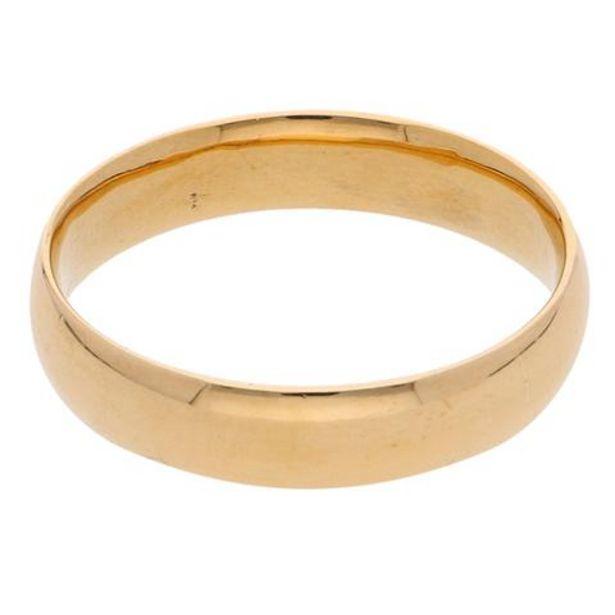 Oferta de Argolla lisa en oro amarillo. por $5159
