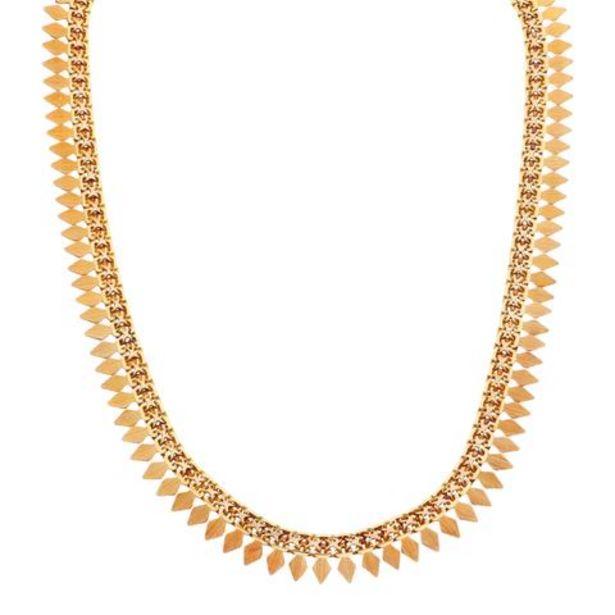 Oferta de Gargantilla hechura especial en oro amarillo 18 kilates. por $40321