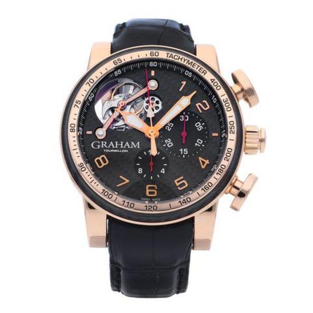 Oferta de Reloj Graham para caballero modelo Tourbillon. por $536000