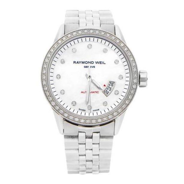 Oferta de Reloj Raymond Weil para dama en acero inoxidable. por $21700