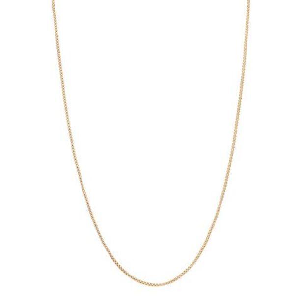 Oferta de Collar hechura italiana en oro amarillo 14 kilates. por $4939