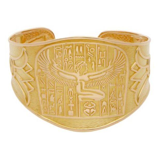 Oferta de Brazalete hechura especial motivo egipcio en oro amarillo 18 kilates. por $58270