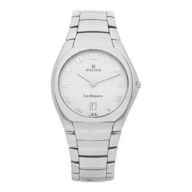 Oferta de Reloj Edox para caballeros modelo Les Bémonts. por $4992