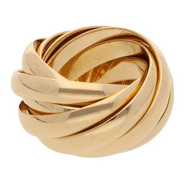 Oferta de Argolla nueve piezas firma Tiffany & Co. en oro amarillo 18 kilates. por $52255