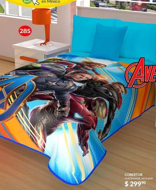 Oferta de Cobertores Avengers por $299.9