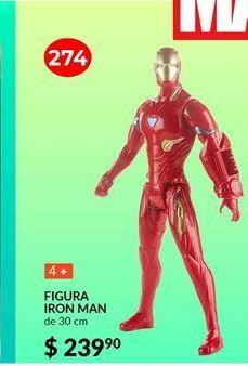 Oferta de Iron Man Series Titan Heroe por $239.9