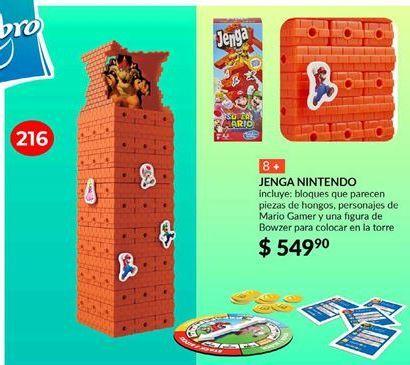 Oferta de Super Mario Jenga por $549.9