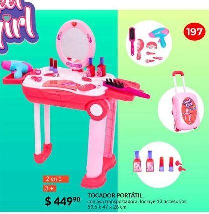 Oferta de Tocador portatil Sweet Girl por $449.9