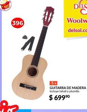 Oferta de Guitarra de madera Adagio por $699.9