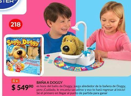 Oferta de Spin Master Games Baña A Doggy por $549.9