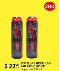 Oferta de BOTELLA SPIDERMAN FAR FROM HOME por $22.9