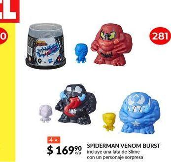 Oferta de SPIDERMAN VENOM BURST por $169.9