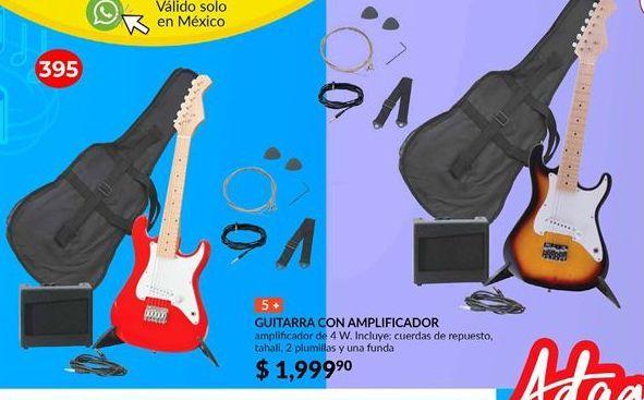 Oferta de Guitarra con amplificador Adagio por $1999.9