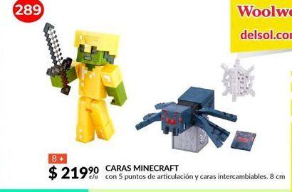 Oferta de Caras Minecraft por $219.9