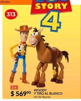 Oferta de Woody y tiro al blanco por $569.9