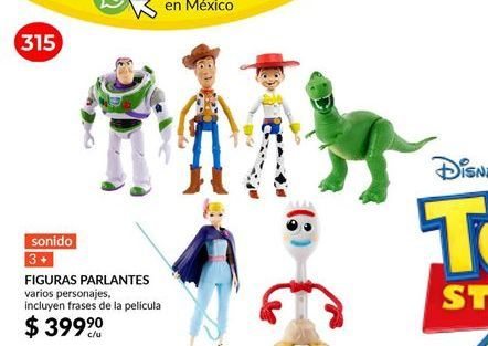 Oferta de Toy Story figuras parlantes por $399.9