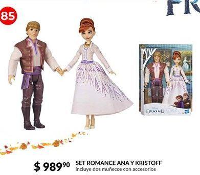 Oferta de Set romance Ana y Kristoff por $989.9