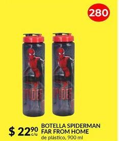Oferta de BOTELLA SPIDERMAN FAR FROM HOME por $22.9