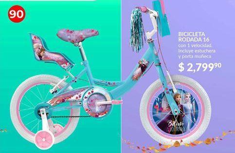 Oferta de Bicicletas Frozen rodada 16 por $2799.9