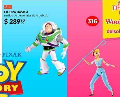 Oferta de Toy Story figura básica por $289.9
