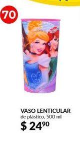 Oferta de Vaso lenticular  Disney por $24.9