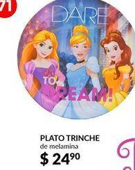 Oferta de Platos Disney por $24.9