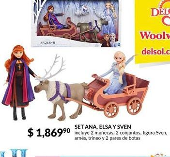 Oferta de Set Ana, Elsa y Sven por $1869.9