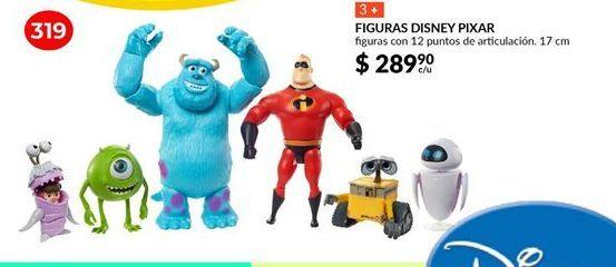 Oferta de Figuras Disney Pixar por $289.9