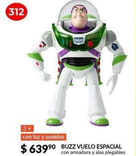 Oferta de Buzz vuelo espacial por $639.9