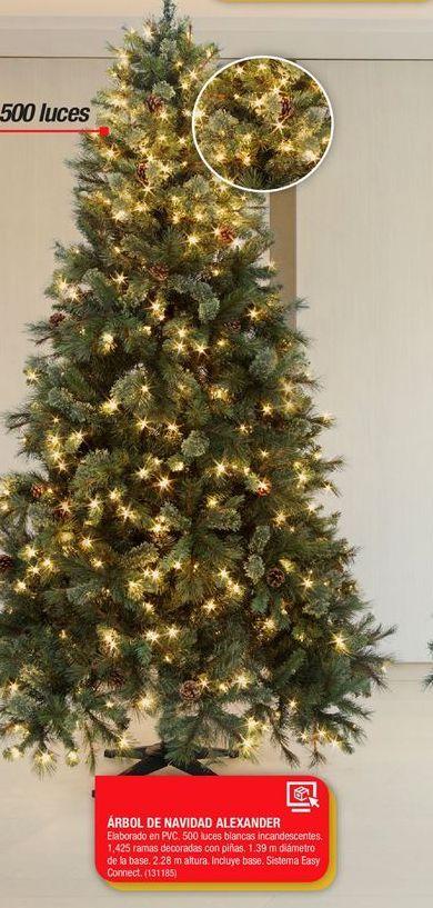 Oferta de Árbol de Navidad Alexander por