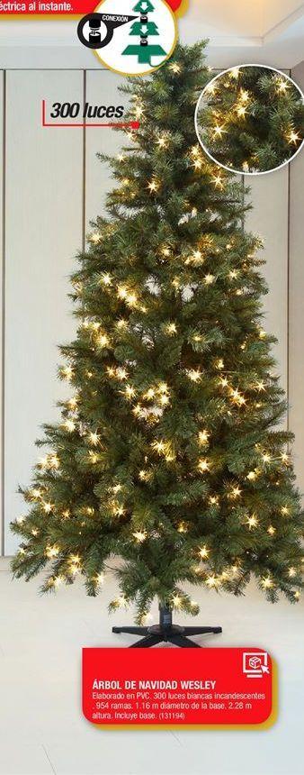 Oferta de Árbol de Navidad Wesley por