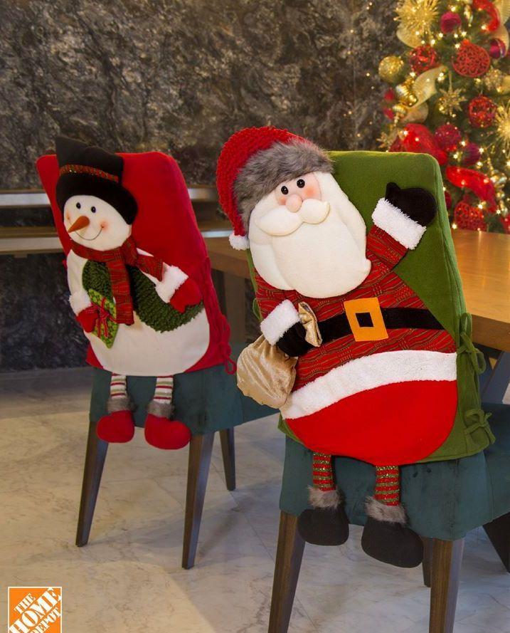 Oferta de Funda de silla Papa Noel por