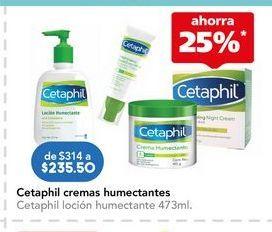 Oferta de Loción hidratante Cetaphil por $235.5