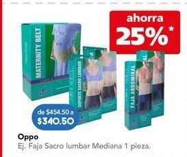 Oferta de Oppo Faja Sacro por $340.5