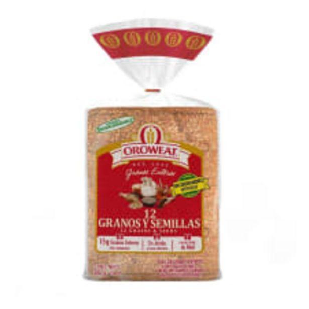 Oferta de Pan integral Oroweat 12 granos y semillas 680 g por $55