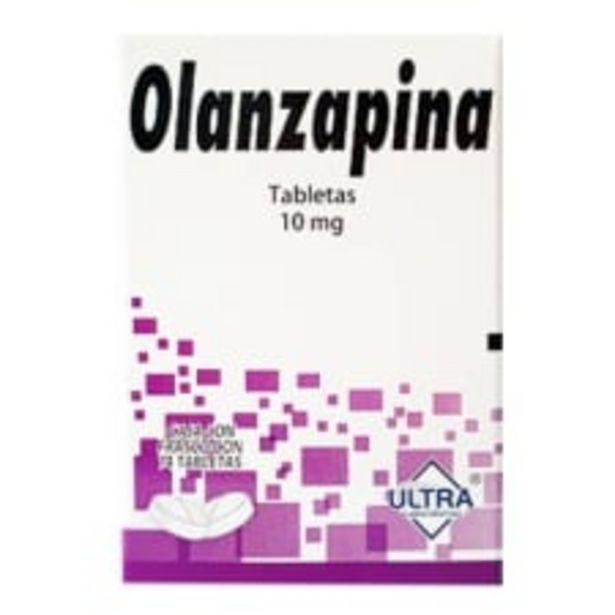 Oferta de Olanzapina 10 mg 14 tabletas por $200