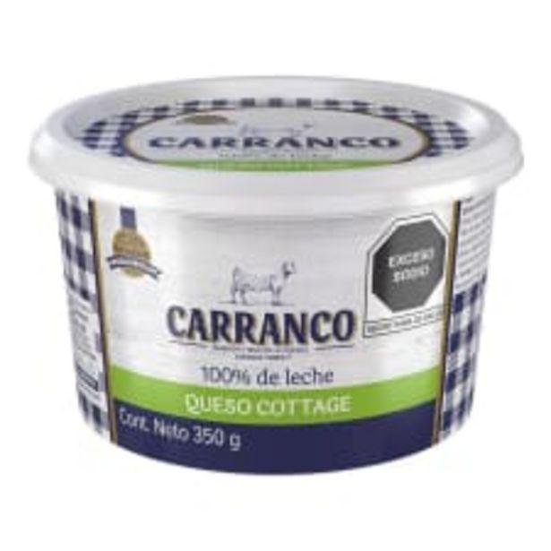 Oferta de Queso cottage Carranco 350 g por $45