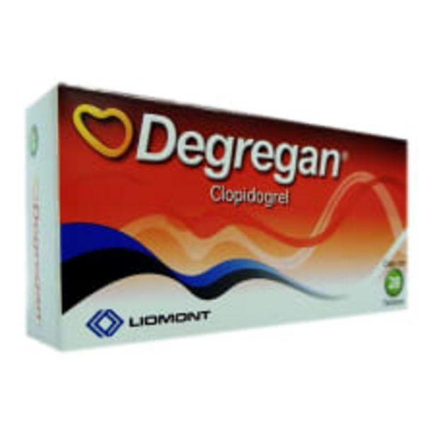Oferta de Degregan tabletas 28 pzas por $893