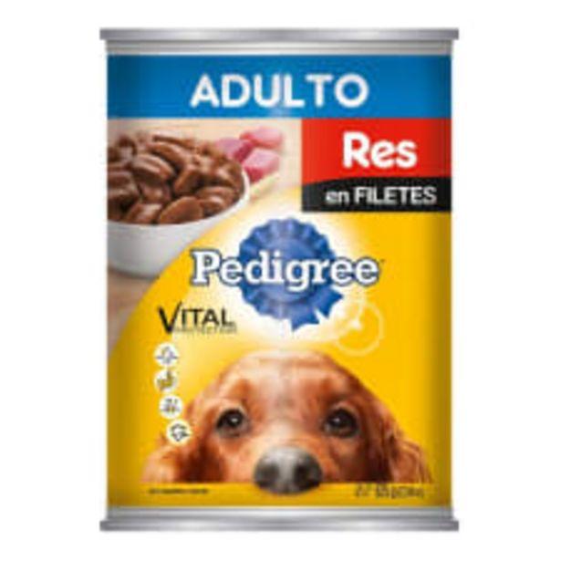 Oferta de Alimento para perro Pedigree Vital Protection adulto res en filetes 625 g por $49