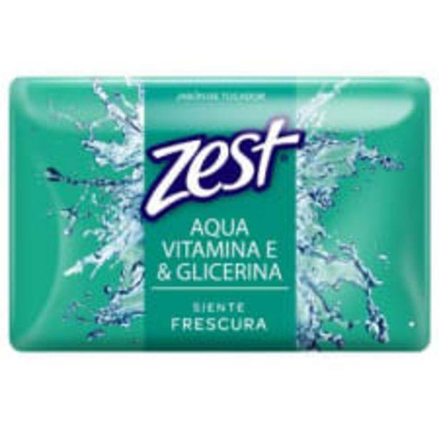 Oferta de Jabón de tocador Zest aqua vitamina E & glicerina 7 pzas de 100 g c/u por $49.9