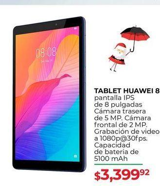 Oferta de Tablet Huawei 8 por $3399.92