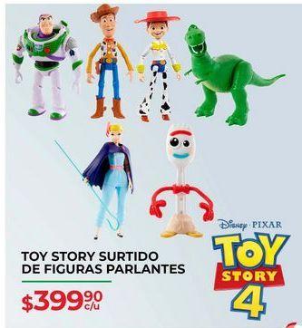 Oferta de Toy Story surtido de figuras parlantes por $399.9