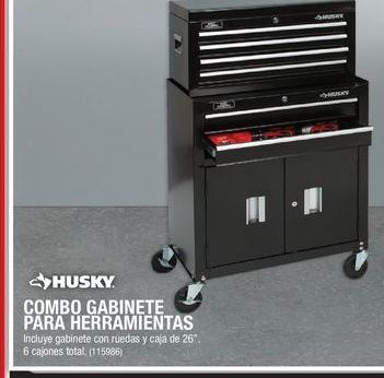 Oferta de Caja de herramientas Husky por