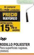 Oferta de Rodillo Poliester Byp por