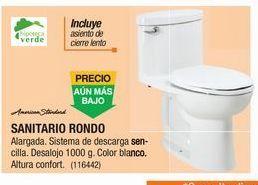 Oferta de Sanitorio Rondo Standard por