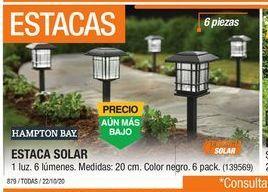 Oferta de Estaca Solar por