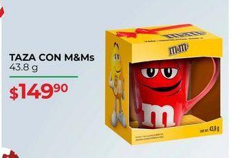 Oferta de Tazas con m&m`s  por $149.9