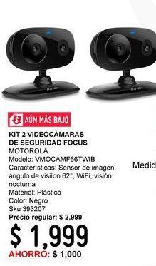 Oferta de Cámara de videovigilancia Motorola por $1999