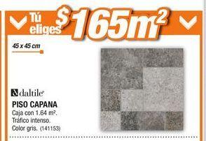 Oferta de Piso Capana Daltile por $165